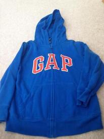 Boys gap hoody age 8-9