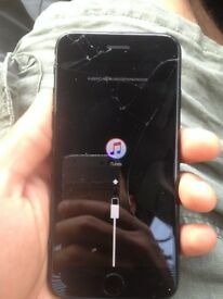 I Phone 7 - Cracked Screen - 32g