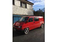 1995 VW Transporter T4 Caravelle LWB Mk1 2.4 Diesel Surf Camper Day Van Conversion 11 Months MOT