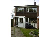3 bedroom house Courtenay Close, Wareham, BH20 4ED garage in block garden pet friendly