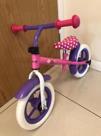 Minnie Mouse Balance Bike