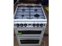 New world gas cooker double ovenwith electric grill ;55 cm