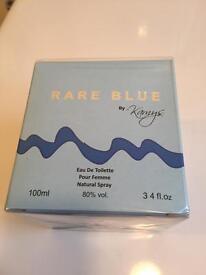 Rare blue unopened 100ml perfume .