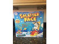 Brand new splatter face