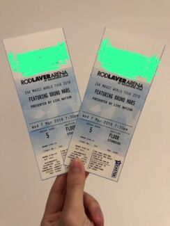 2X Bruno Mars Melbourne Concert