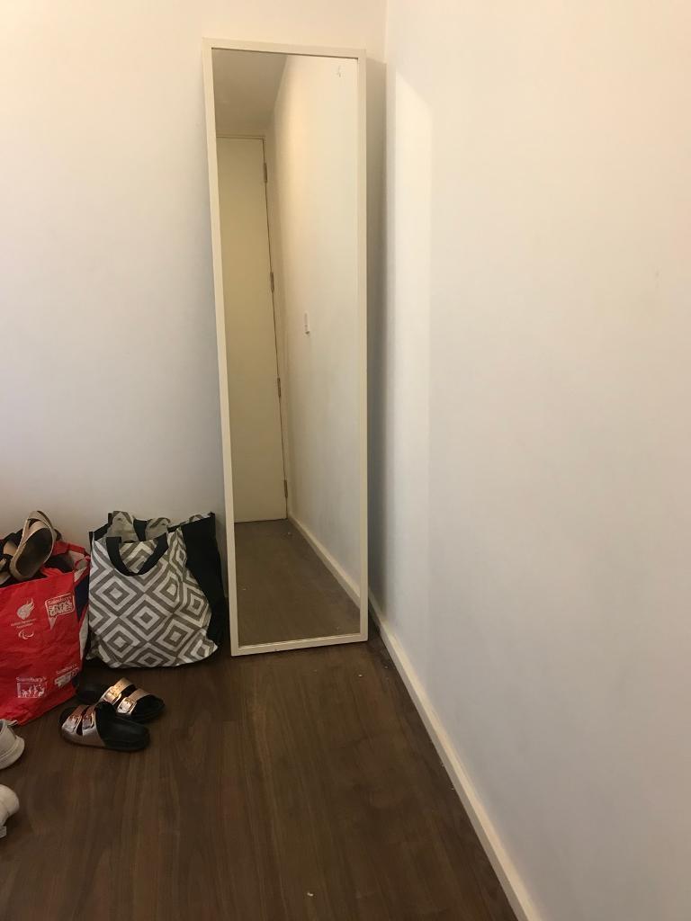IKEA WHITE FULL LENGTH MIRROR | in Nottingham City Centre ...