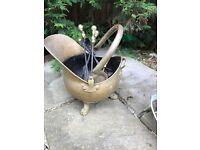 Coal bucket brass