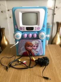Frozen Kids Karaoke Machine