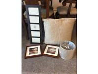 Various picture frame and accessories