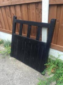 Brand New Black Garden Gate