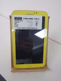 Samsung Tab 3 Yellow