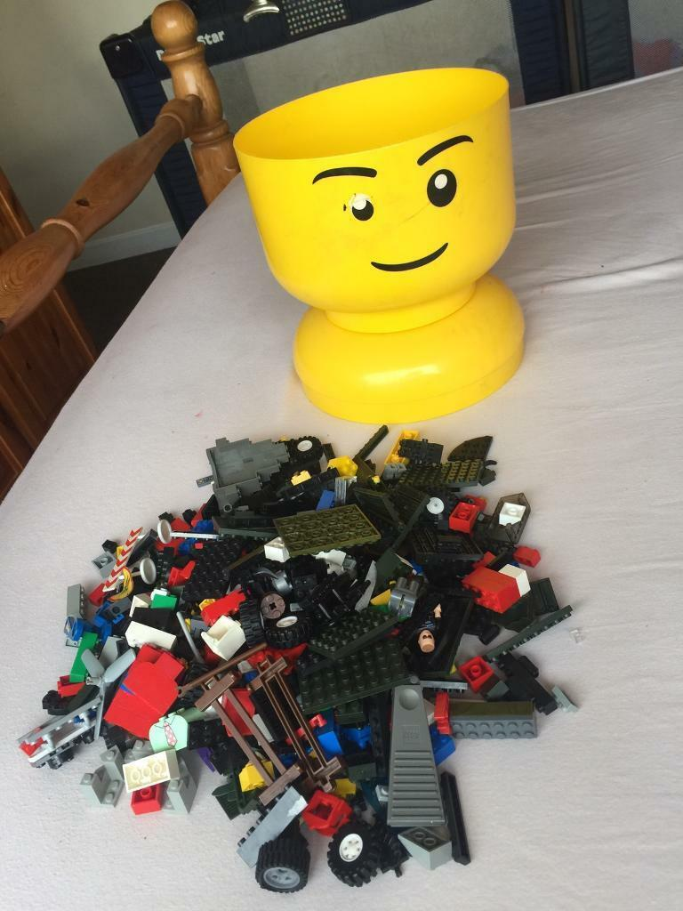 Large logo head & Lego bundle