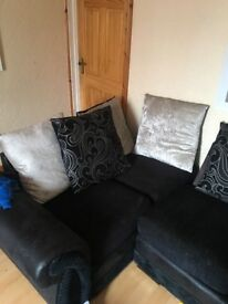 Large four seater sofa