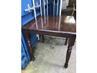 Small square dining table with FREE DELIVERY PLYMOUTH AREA