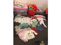 Baby Girl Bundle 3-6 Months £15