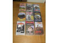 Job Lot - 52 x Steam Train VHS Videos