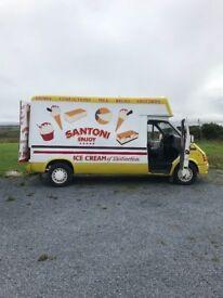 Smiley transit cocozza van
