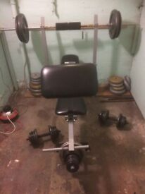 Gym weights equipment for sale