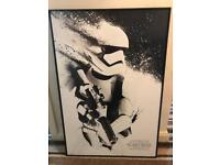 First Order Stormtrooper Box Frame Picture
