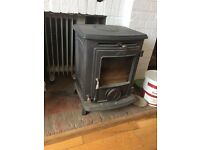AGA Little Wenlock Smoke Exempt Wood Burner inc flue