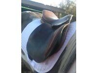 Lemetex 17 1/2 in saddle
