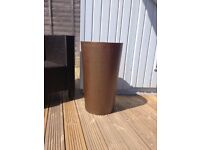 Tapered Designer Planter for indoor/outdoor use