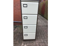 Filing Cabinet 4 Drawer with Key (Excellent Condition)