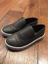 Michael Kors Toddler Ivy Alita Sneakers in Dark Brown