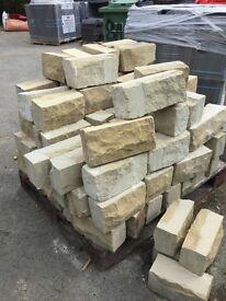 Redressed Yorkshire sandstone