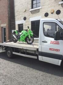 Car recovery service vehicle 🚗 local starting from 15£/20£/25£/30£