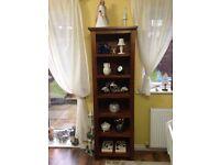 Tall bookunit/display unit