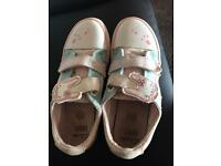 Clarks and peppa girls shoes size 6