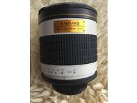 Samyang 500mm f6.3 Mirror Lens. Ultra-telephoto photography!