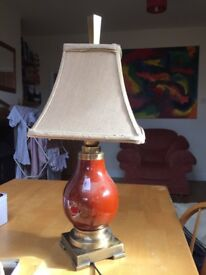Luxury Lamp and Shade.