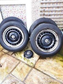 VW Steel Wheels