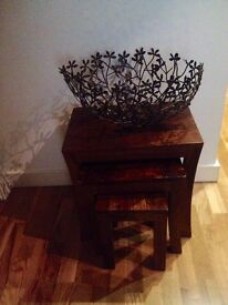 Nest of tables, set of 3