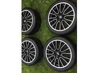 Mini wheels and tyres 17in £149.99 ono offers welcome