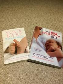 Free- pregnancy bible and baby book
