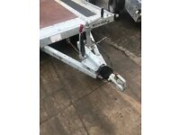 Brian James car transporter trailer as new