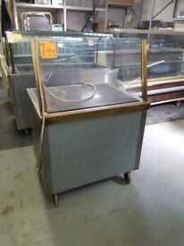 90CM ELECTRIC GRIDDLE WITH WHEELS (SINGLE PHASE) AST167