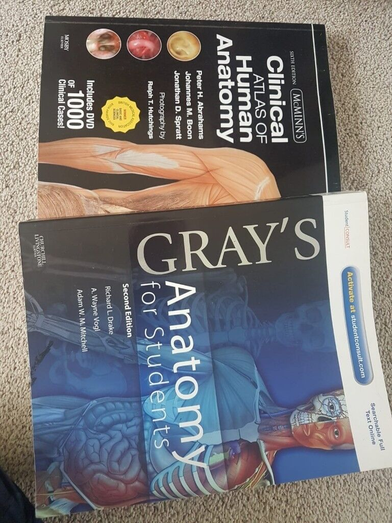 ANATOMY TEXT BOOKS | in Edgbaston, West Midlands | Gumtree