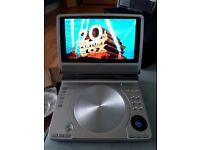 Panasonic Portable Dvd player with carry case