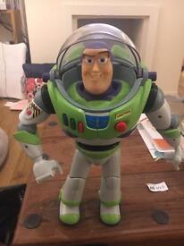 Original 90s Buzz Lightyear Toy Story toy
