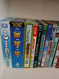 43 children's Dvds