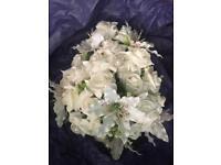 Wedding flower bouquets £250