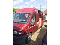 NOW SOLD!!! FIAT Ducato Timberland Freedom campervan 1997