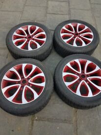 nissan juke alloy wheel and tyre