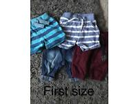 First size/ 0-3/ 3-6 clothing