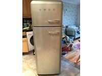 SMEG FAB 30 fridge freezer working well