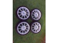 Bmw Mv4 19'' Alloys Genuine Can Post Can sell singles Part Ex welcome